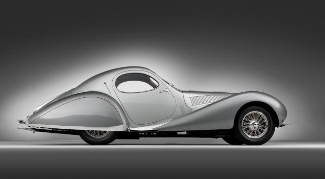 1938 Talbot Lago T150SS Goutte d'Eau Coupe
